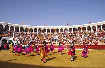 La curiosa Plaza de Toros de Tarazona de La Mancha se inauguró oficialmente el 2 de agosto de 1857.