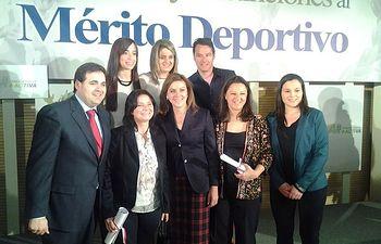 Francisco Núñez asiste a la entrega de Premios y Distinciones al Mérito Deportivo de Castilla-La Mancha