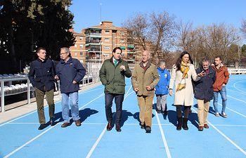 Núñez visita el Club de Atletismo Toledo