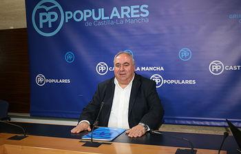 Vicente Tirado, secretario general del Partido Popular de Castilla-La Mancha y vicesecretario de Política Autonómica y Local de la formación a nivel nacional.