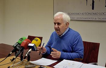 Carlos Gil, concejal de Cultura.