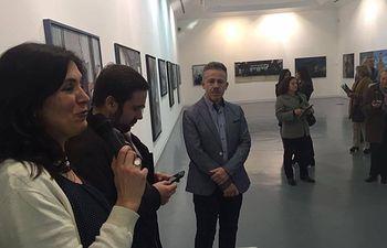 El artista alcazareño Luís Ibáñez expone dentro de las actividades del Festival 7 soles 7 lunas