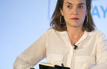 La vicepresidenta de la FEMP y alcaldesa de Logroño, Cuca Gamarra