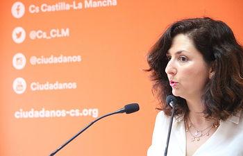 Orlena De Miguel, portavoz de Cs C-LM.