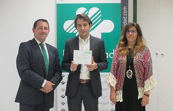 Aguas de Albacete recibe el Reconocimiento de Fraternidad-Muprespa por su reducción de la siniestralidad.