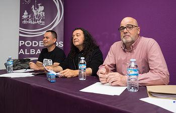 """David Llorente, \""""Avanzar Juntxs\"""", Juan Miguel González, \""""Tú Haces Podemos\"""" y Fernando Barredo, \""""Imagina CLM\"""""""