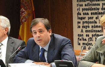 Ramos, en el Senado. Foto: Ministerio de Agricultura, Alimentación y Medio Ambiente