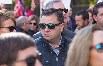 Manifestación del Día Internacional de la Eliminación de la Violencia contra la Mujer en Albacete