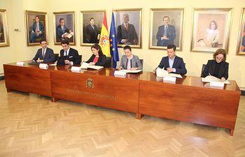 El Gobierno regional reafirma su compromiso con la celebración del IV Centenario de la muerte de Miguel de Cervantes. Foto: JCCM.