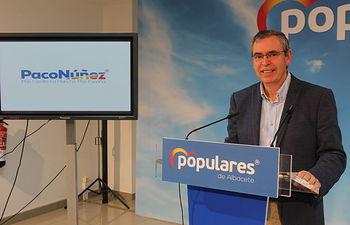 Vicente Aroca, presidente del PP de Albacete.
