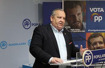 José Luis González Lamola, senador electo del PP por Guadalajara.