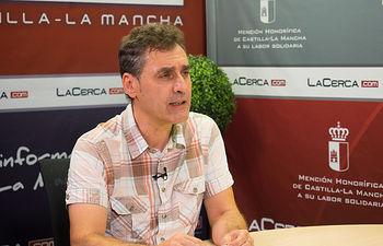 Francho Tierraseca, candidato para optar a la secretaría general de la agrupación local del Partido Socialista de Albacete