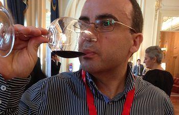 José Luis Martínez, periodista de la AEPEV y de El Correo del Vino