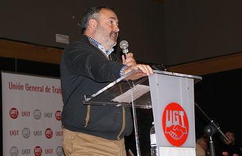 Carlos Pedrosa Serrano, secretario General UGT CLM