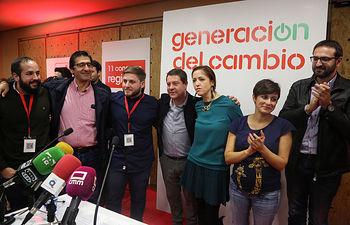Clausura XI Congreso JJSS de Castilla-La Mancha