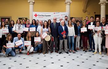 Entrega de los Reconocimientos a Empresas Colaboradoras con el Plan de Empleo de Cruz Roja en Albacete. Foto: Manuel Lozano Garcia / La Cerca