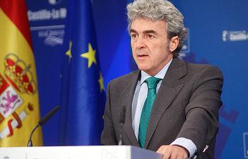 Leandro Esteban informa de los acuerdos adoptados en Consejo de Gobierno II. Foto: JCCM.