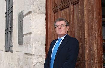 Miguel Ángel Collado, rector de la UCLM. Archivo.