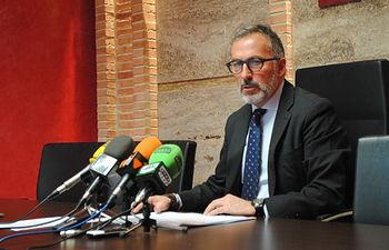 Francisco Delgado, portavoz de Gobierno municipal.
