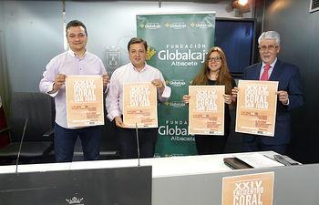 Manuel Serrano presenta el XXIV Encuentro Coral San Juan.