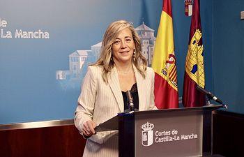 Lola Merino, portavoz del PP en las Cortes de Castilla-La Mancha.