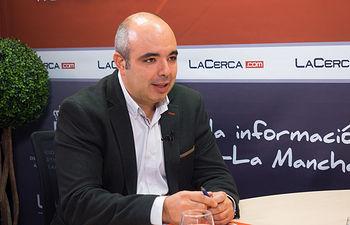 Julián Sevilla, presidente de la Federación de Comercio de Albacete