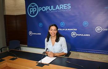 Claudia Alonso, diputada regional.