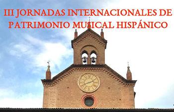 Fragmento del cartel de las Jornadas Internacionales de Patrimonio Musical Hispánico.