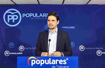 Santiago Serrano, portavoz de Grupo Municipal Popular.