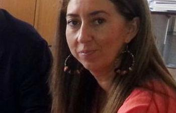 La presidenta del PP de Manzanares, Rebeca Sánchez-Maroto