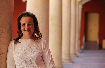 María Ángeles Rosado, cabeza de lista de Cs Guadalajara al Congreso de los Diputados.