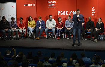 Pedro Sánchez en Valladolid. Foto: NACHO GALLEGO