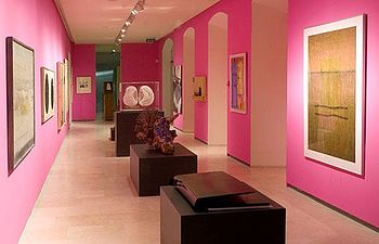 Imagen de una de las salas del Museo de la Merced, en Ciudad Real