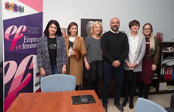El vicepresidente segundo de la JCCM, José García Molina, visita las instalaciones de AMEPAP en Albacete