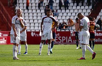 Partido del Albacete Balompié contra el Extremadura UD de la Liga SmartBank jugado el 6 de diciembre de 2019. Foto: Manuel Lozano García / La Cerca