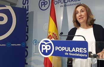 Silvia Valmaña, diputada PP por Guadalajara.