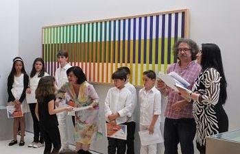 Entrega de diplomas acto Día Internacional de los Museos
