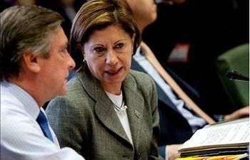 La ministra española del Medio Ambiente, y Medio Rural y Marino, Elena Espinosa. EFE