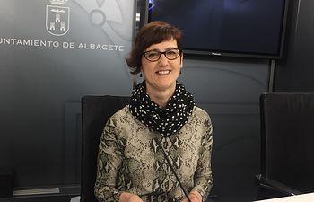 Carmen Fajardo, concejala de Unidas Podemos.