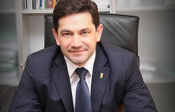 Miguel Ángel Valverde, alcalde de Bolaños de Calatrava.