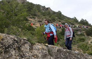 Doble cita  de senderismo de la Diputación Provincial de Albacete, en Villa de Ves y Elche de la Sierra