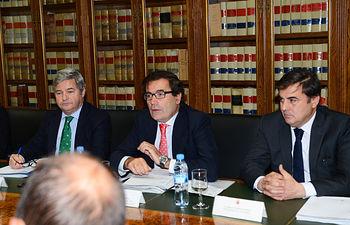 Carlos Cabanas se reúne con el Comité Ejecutivo de ASAJA – Cuenca. Foto: Ministerio de Agricultura, Alimentación y Medio Ambiente