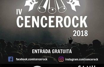 Cartel Cencerock Almonacid del Marquesado 2018.