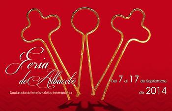 Cartel Feria de Albacete 2014.