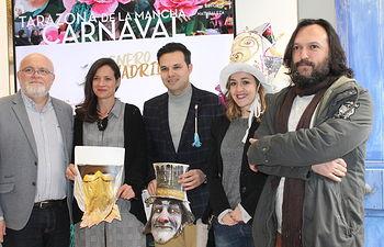 Presentación del cartel del Carnaval Tarazona de la Mancha 2019.