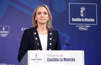 Carmen Casero-1. RP Consejo de Gobierno_100114. Foto: JCCM.