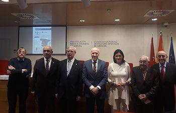 Presentación libro OMC. Foto: Europa Press 2020