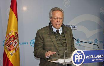 Ramon Aguirre, diputado nacional del  PP por Guadalajara.