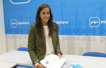 María Roldan diputada regional por la provincia de Cuenca