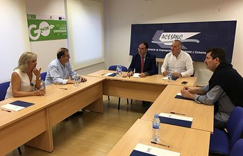 ACESANC reunión Benjamín Prieto